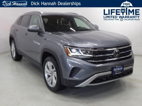 New 2020 Volkswagen Atlas Cross Sport 2.0T SEL With Navigation & AWD